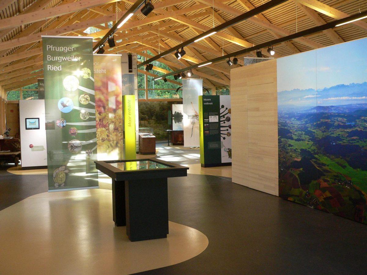 interaktive Ausstellung im Naturschutzzentrum Wilhelmsdorf