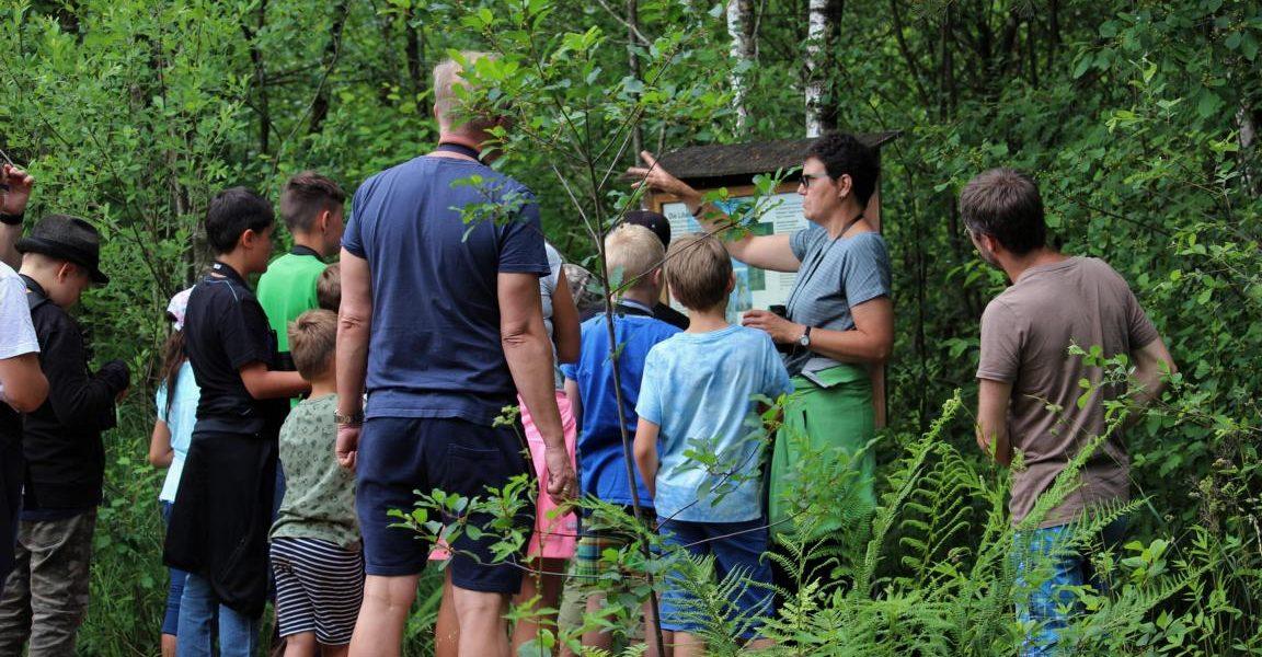 Moorführung Naturschutzzentrum Wilhelmsdorf