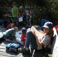 Naturkindergruppe im Pfrunger-Burgweiler Ried