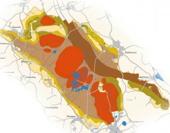 Übersichtskarte Pfrunger-Burgweiler Ried