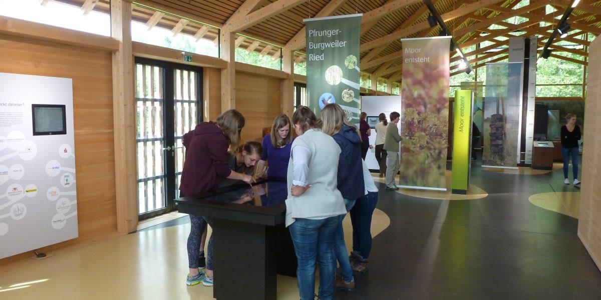 """Ausstellung """"Moor erleben"""" im Naturschutzzentrum Wilhelmsdorf"""